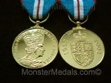 QUEENS GOLDEN JUBILEE MEDAL 2002 FULL SIZE REPLACEMENT COPY